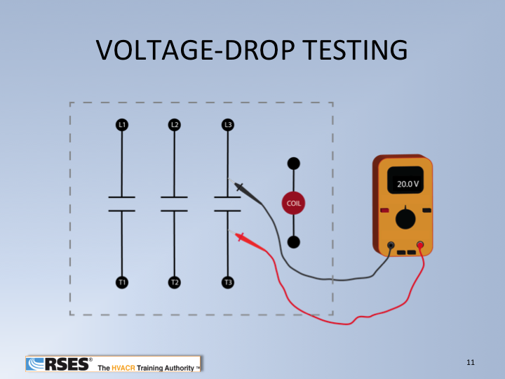 Voltage drop test1